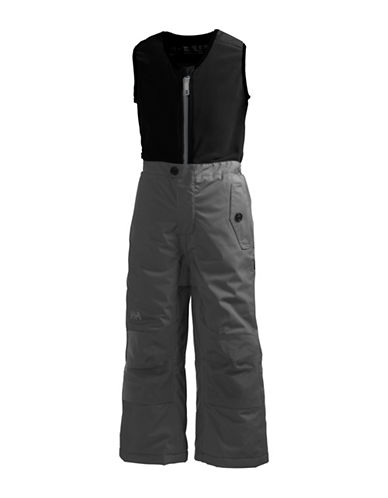 Helly Hansen Bib Snow Pants-GREY-6