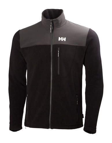 Helly Hansen Sitka Fleece Jacket-BLACK-X-Large
