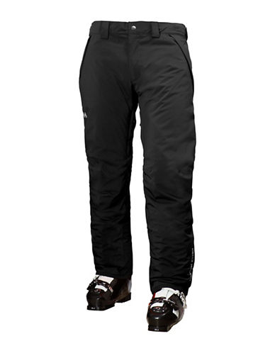 Helly Hansen Velocity Insulated Ski Pants-BLACK-Medium