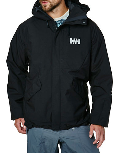 Helly Hansen Toronto Performance Ski Jacket-BLACK-X-Large 88589619_BLACK_X-Large