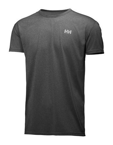 Helly Hansen Regular-Fit Training T-Shirt-EBONY-Large 88589496_EBONY_Large