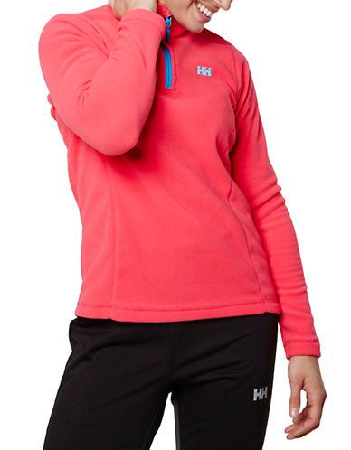 Helly Hansen Daybreaker Half-Zip Fleece Pullover-PINK-Medium 87816846_PINK_Medium