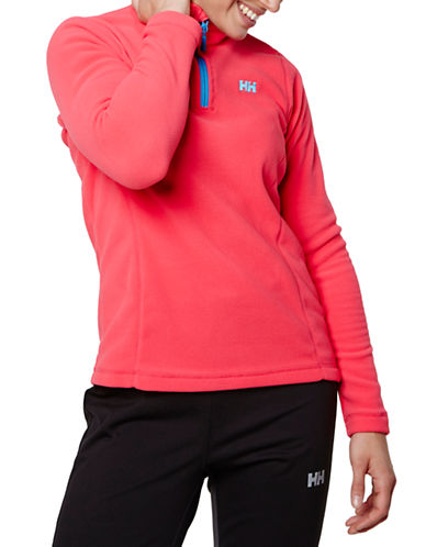 Helly Hansen Daybreaker Half-Zip Fleece Pullover-PINK-Small 87816845_PINK_Small