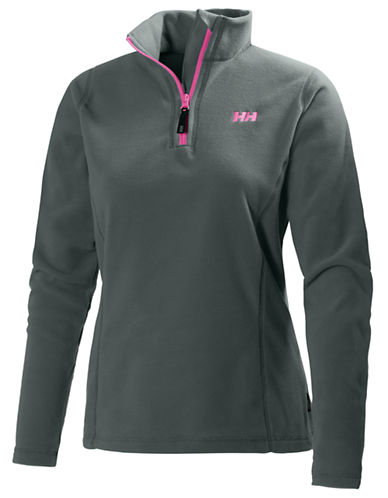 Helly Hansen Daybreaker Half-Zip Fleece Pullover-GREY-X-Large 87816858_GREY_X-Large