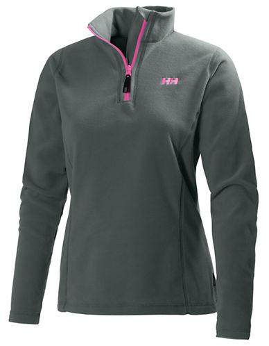Helly Hansen Daybreaker Half-Zip Fleece Pullover-GREY-Medium 87816856_GREY_Medium
