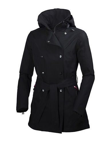 Helly Hansen Welsey Trench Coat-BLACK-Medium 88244154_BLACK_Medium