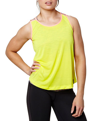 Helly Hansen Multi-Sport Training Tank Top-YELLOW-X-Large 88352511_YELLOW_X-Large