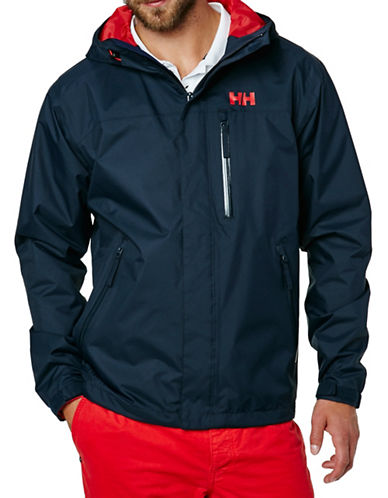 Helly Hansen Vancouver Rain Jacket-NAVY-Large