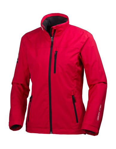 Helly Hansen Crew Midlayer Sailing Jacket-RED-Large
