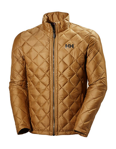 Helly Hansen Oslo Quilted Down Jacket-BROWN-Large 88589551_BROWN_Large