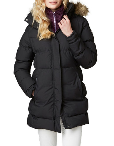 Helly Hansen Blume Puffy Winter Parka-BLACK-Small