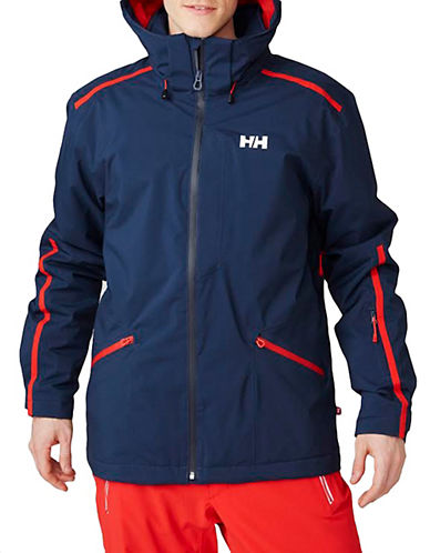 Helly Hansen Vista Ski Jacket-BLUE-Large