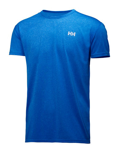 Helly Hansen Regular-Fit Training T-Shirt-BLUE-X-Large 88589504_BLUE_X-Large