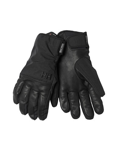 Helly Hansen Rogue HellyTech Leather Gloves-BLACK-X-Large