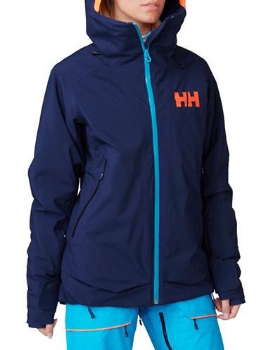 Helly Hansen Louise Ski Jacket-BLUE-X-Small 88684659_BLUE_X-Small