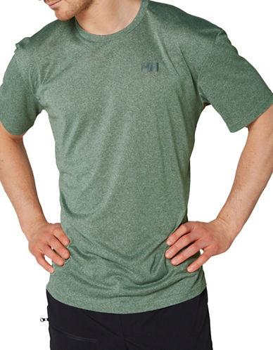 Helly Hansen Sigel Logo Short Sleeve Tee-GREEN-Medium 89002944_GREEN_Medium