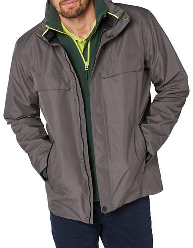 Helly Hansen Kent Rain Jacket-GREY-Medium 89099153_GREY_Medium