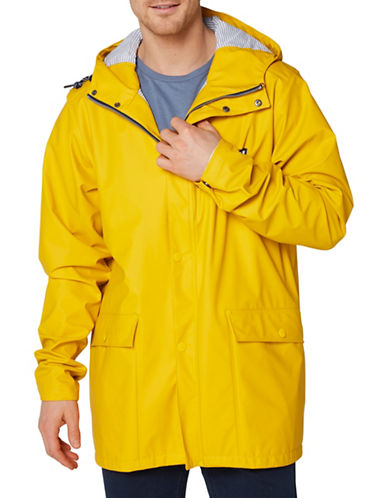 Helly Hansen Lerwick Rain Jacket-YELLOW-Medium