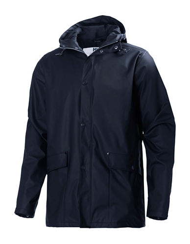 Helly Hansen Lerwick Rain Jacket-NAVY-Large