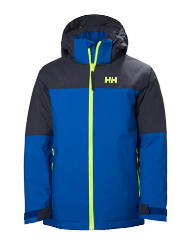 Helly Hansen Jr Progress Jacket-DARK BLUE-8