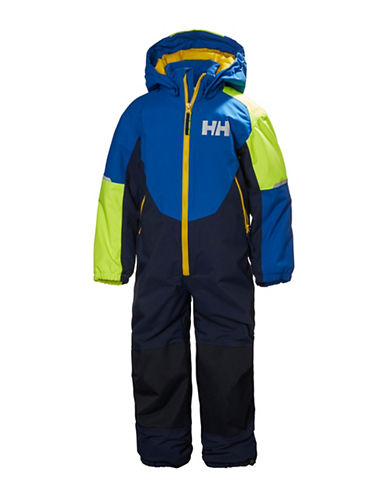 Helly Hansen K Rider Insulated Suit-BLUE/GREEN-1