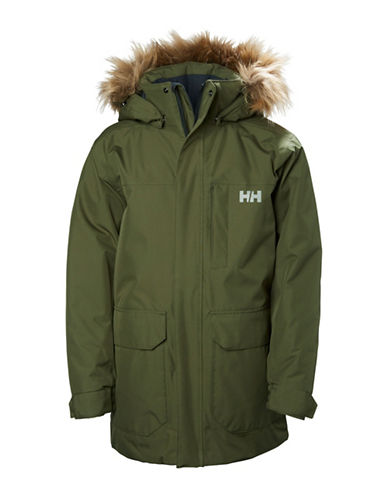 Helly Hansen Jr Felix Parka-GREEN-8