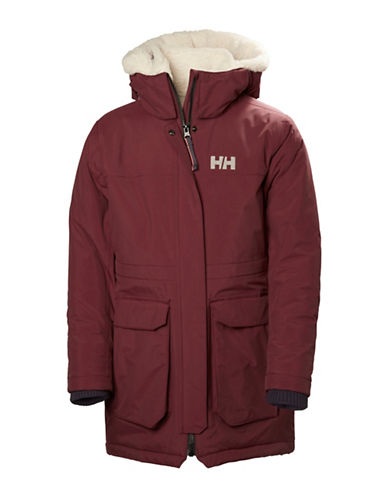 Helly Hansen Jr Vilde Parka-PURPLE-14