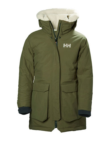 Helly Hansen Jr Vilde Parka-GREEN-14