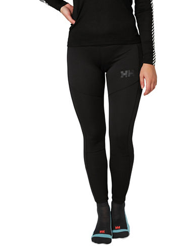 Helly Hansen Logo Seam Leggings-BLACK-Large 89613669_BLACK_Large