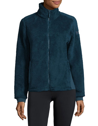 Helly Hansen Precious Fleece Jacket-GREEN-X-Large
