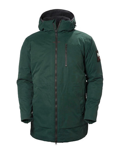 Helly Hansen Njord Parka-GREEN-Medium