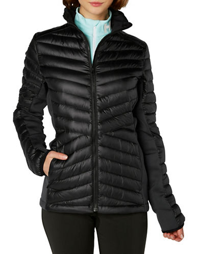 Helly Hansen Hybrid Down-Fille Insulator Jacket-BLACK-X-Large 89511429_BLACK_X-Large