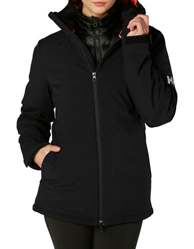Helly Hansen Insulated Softshell Jacket-BLACK-Large
