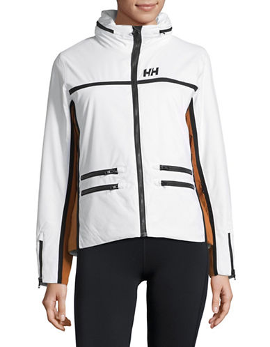 Helly Hansen Star Insulated Waterproof Jacket-WHITE-Medium