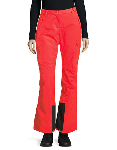 Helly Hansen Switch Cargo Insulated Waterproof Ski Pants-CORAL-Large