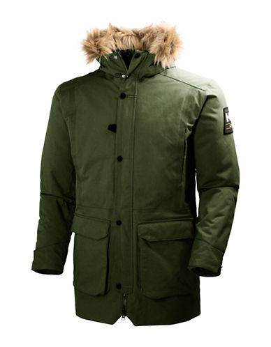 Helly Hansen Norse Parka-GREEN-Large