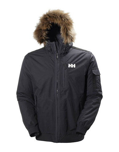 Helly Hansen Dubliner Bomber Jacket-BLUE-Medium