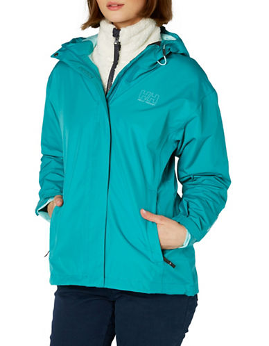 Helly Hansen Seven J Rain Jacket-BLUE-X-Large