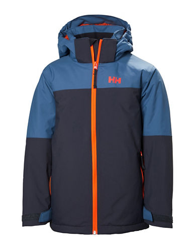 Helly Hansen Jr Progress Jacket-BLUE-12