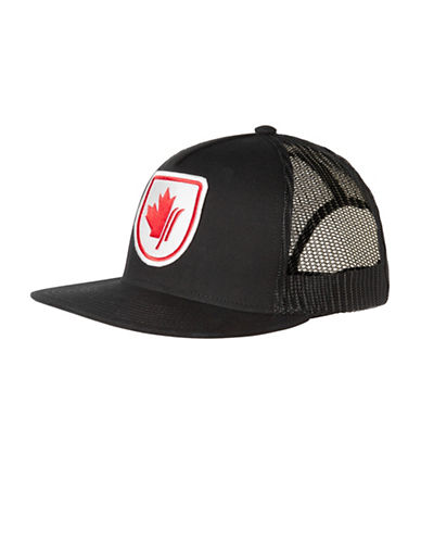 Helly Hansen Flatbrim Trucker Hat-BLACK-One Size
