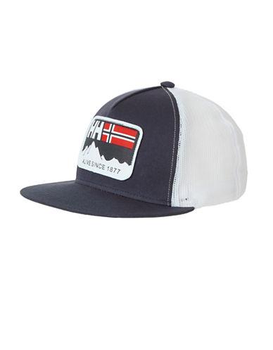 Helly Hansen Flatbrim Trucker Hat-BLUE-One Size