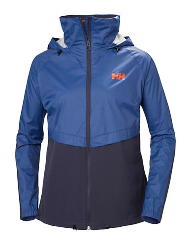 Helly Hansen Pack-Away Hooded Jacket-BLUE-Large 89938390_BLUE_Large