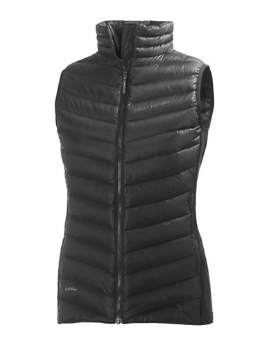 Helly Hansen Quilted Sleeveless Insulator Vest-BLACK-X-Small 89938352_BLACK_X-Small
