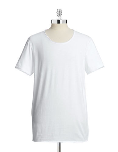 Hugo Depus Cotton T-Shirt-WHITE-Small 87640094_WHITE_Small