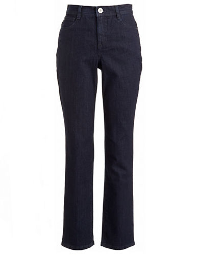 Style And Co. Tummy Control Skinny Jeans-BLUE-12