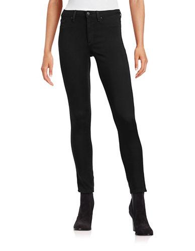 Jessica Simpson Kiss Me Super Skinny Jeans-BLACK-25