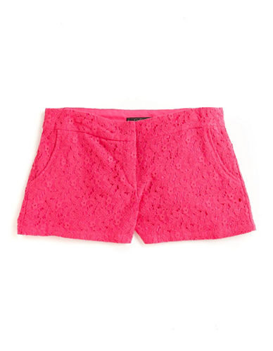 Jessica simpson Lace Shorts hot pink 1112