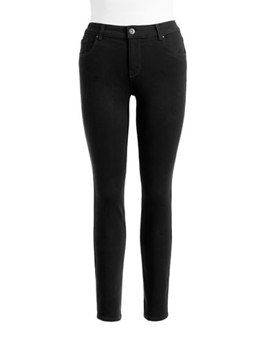Style And Co. Curvy Skinny Jeans-BLACK-10