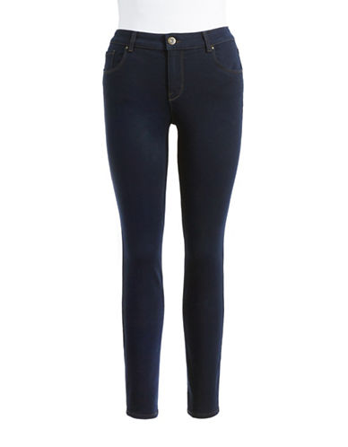 Style And Co. Curvy Skinny Jeans-BLUE-6