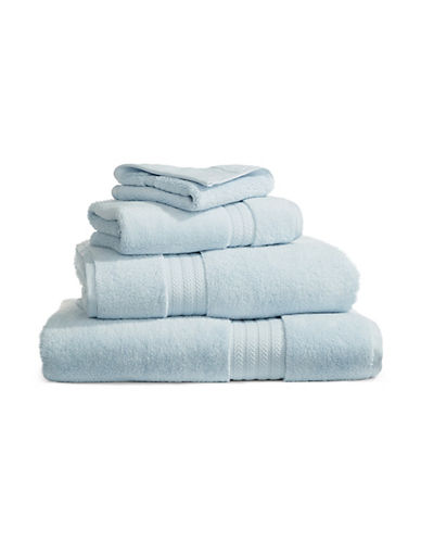 Hotel Collection Elite Cotton Blend Wash Cloth-ICE BLUE-Washcloth